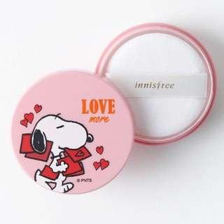 (PO) Snoopy X Innisfree No Sebum Mineral Powder