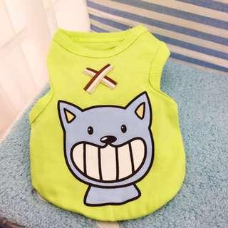 Pet Dog / Cat Cute Cat print Shirt Free Shipping