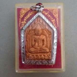 Khun paen pong prai kuman 1 batch. chanted by Lp.Bua wat sri buraparam for wat boas year:2554 Tall:4cm
