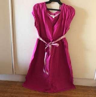 Aero maternity dress pink