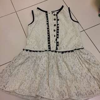 MARKS N SPENCER DRESS GIRL 2-3