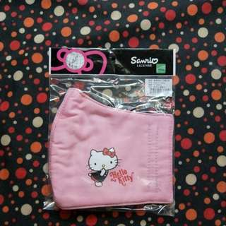 Authentic Sanrio Hello Kitty Washable Face Mask
