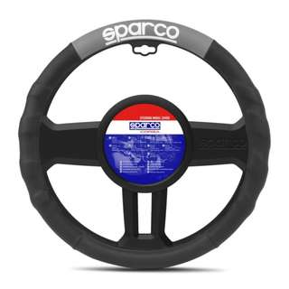 Sparco Steering Wheel Cover SPC1111GR (Black/Gray)