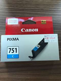 Canon 751C ink cartridge