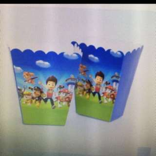 Paw Patrol Popcorn/Snacks Holder