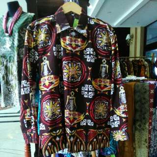 Hem batik toraja