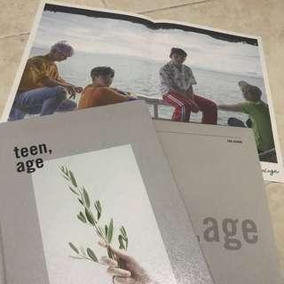 SEVENTEEN TEEN AGE ( WHITE VER)