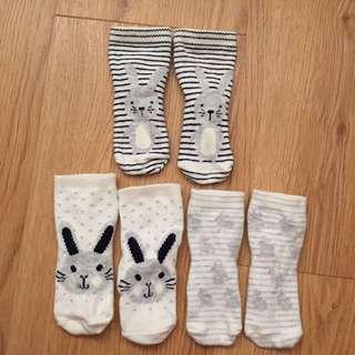 Baby Socks (3- 6 mth)