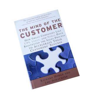 THE MIND OF THE CUSTOMER BY RICHARD HODGE & LOU SCHACHTER