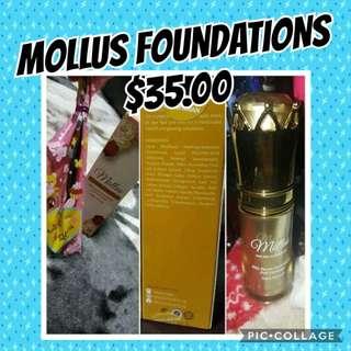 Mollus serum foundations 15ml instock
