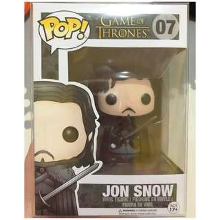 Funko Pop! Game Of Thrones Edition 2 Jon Snow #07