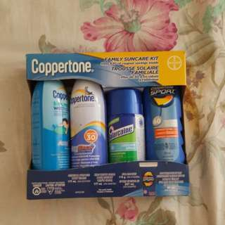 Coppertone Family Suncare Kit