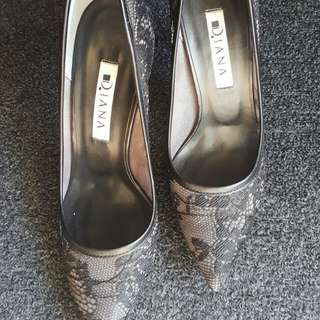 Diana high heels, 8cm, size 21.5