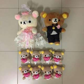 rilakkuma couple / wedding / marriage / family
