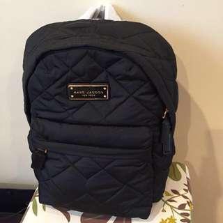 黑色 Marc Jacobs Backpack