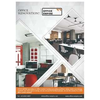 Office Renovation / Reinstatement / Office Furniture