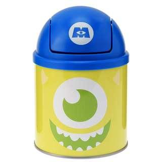 日本 Disney Store 直送怪獸公司 Monster Inc. 大眼仔 Mike 迷你垃圾筒
