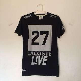 Lacoste Tshirt Black