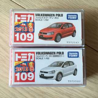 Tomy Tomica Volkswagen Polo #109
