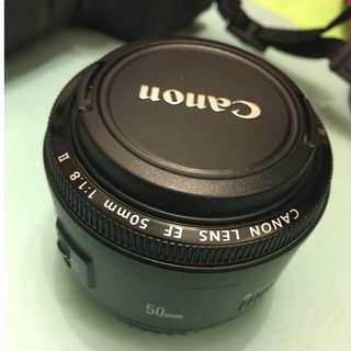 定焦鏡 Canon EF 50mm f1.8 II