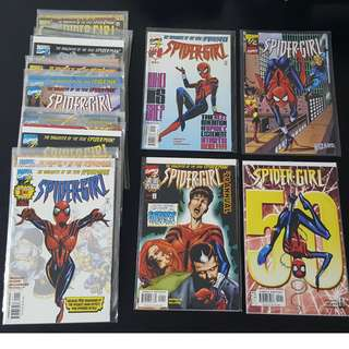 Marvel Spider-girl Issue 0 - 24, 50 & Annual