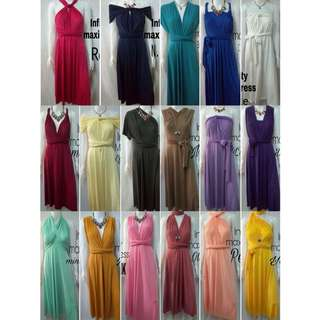 Convertible Infinity Dress Maxi 7 in 1