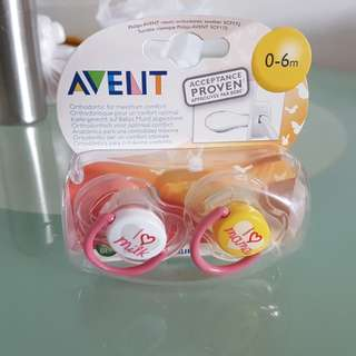Avent Pacifier 0 to 6mo