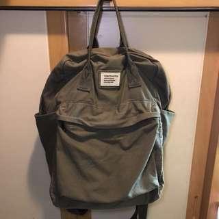 軍綠色背囊/書包/布袋