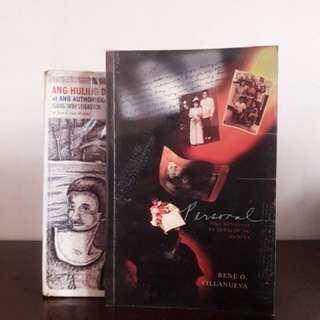 Jun Cruz Reyes and Rene O. Villanueva Book Bundle
