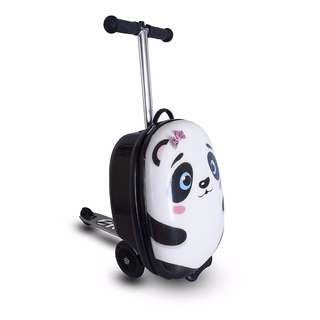 "Free Delivery Brand New Zinc Flyte Kids Midi Luggage Scooter 18"" - Polly the Panda"