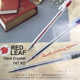 Red Leaf Hard Crystal 747 XO