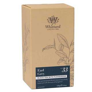 Whittard 英國格雷伯爵茶-50入裸茶包