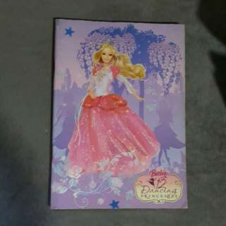 Barbie doll note book