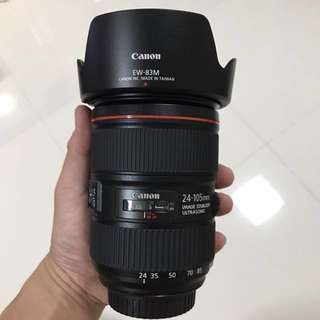 Canon 24-105mm II f4L IS USM Lens