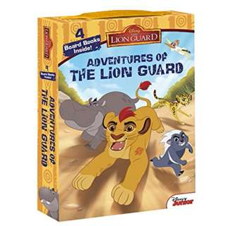 SALE! BRAND NEW The Lion Guard Adventures of The Lion Guard: Board Book Box Set Hardcover