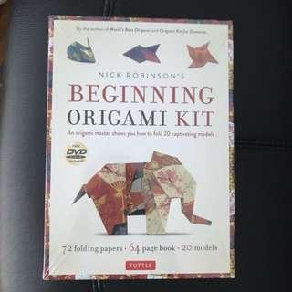 Beginning Origami Kit