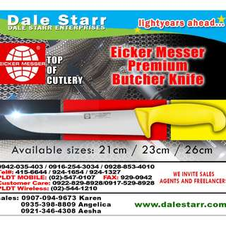 Eicker Messer PREMIUM Butcher Knife
