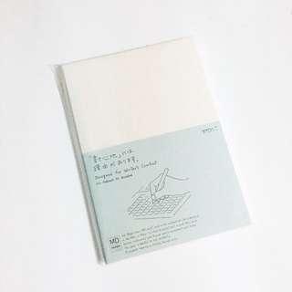 midori A5 grid notebook