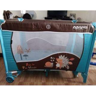 Apruva Baby Crib and Play Pen