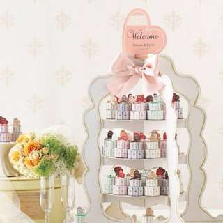 [Wedding Favours] Teatime Cookies Tower