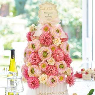 [Wedding Favors] Summer Floral Gift Tower