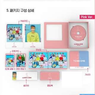 [PO] Wanna One - To Be One 1st Mini Album