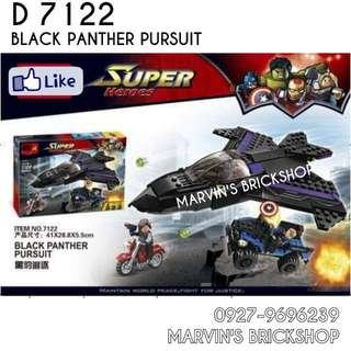 For Sale Black Panther Pursuit Building Blocks Toy