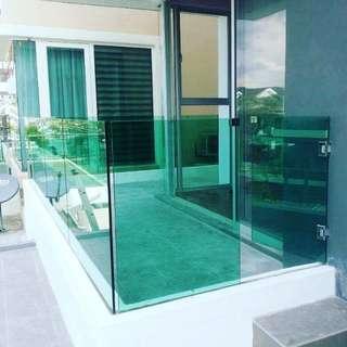 Glass Fencing Balcony