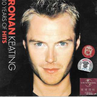 MY CD - RONAN KEATING- 10 YEARS OF HITS //FREE DELIVERY BY SINGPOST(W6D)