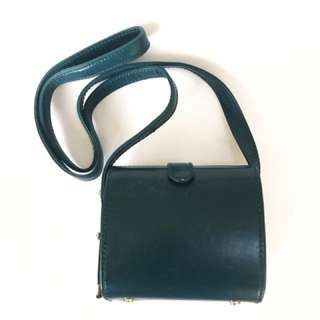 Zara bag - teal cross body with adjustable strap
