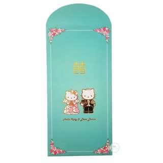 Hello Kitty Tiffany Wedding Red Packet
