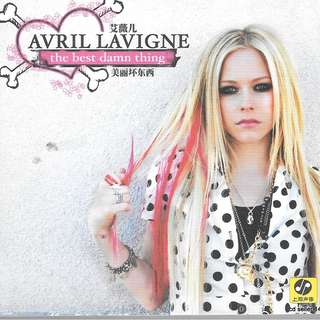 MY CD - AVRIL LAVIGNE -THE BEST DAMM THING // FREE DELIVERY BY SINGPOST