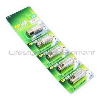 5Pcs GP 23A/A23 Battery 12V. Alkaline Batteries. Home/Office