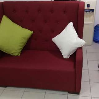"High back sofa ""Red"""